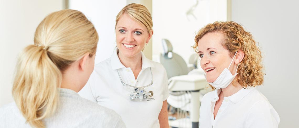 Medical Center Wiesbaden - WEISS² – Meine Zahnärztinnen 1